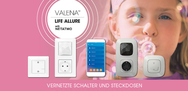 Valena with Netatmo bei Bittner & Kämpf Video- Tv- HiFi GmbH in Rodgau