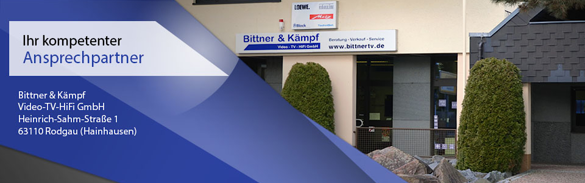 Bittner & Kämpf Video- Tv- HiFi GmbH in Rodgau